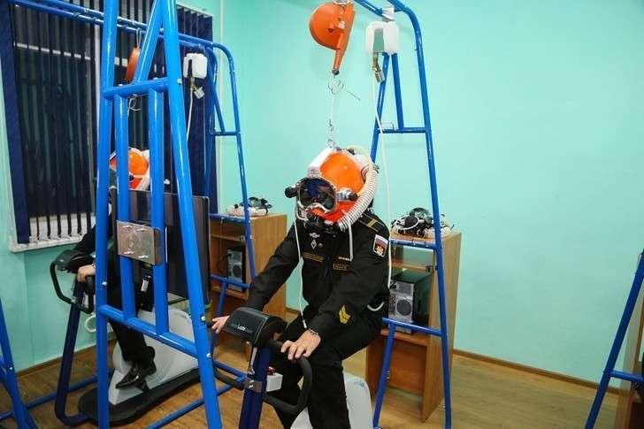 Новый тренажёрный комплекс для подготовки водолазов открыли на Северном флоте