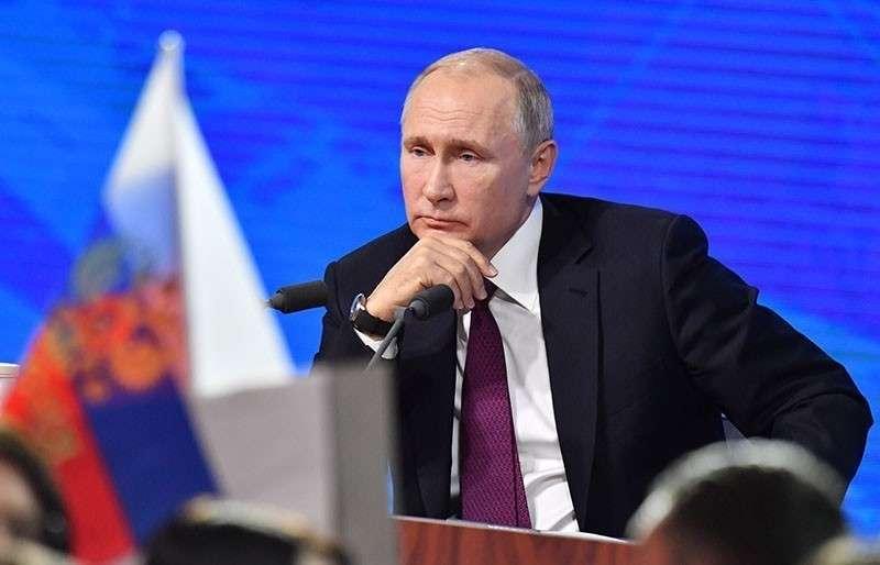 Большая пресс-конференция Путина назначена на 19 декабря 2019 года