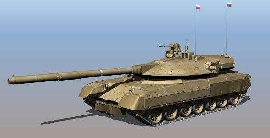Новый российский танк «Армата» будет видеть поле боя на 360 градусов