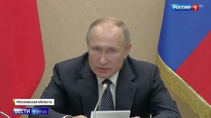Ставка – на самые современные технологии. Путин поставил задачи Совбезу