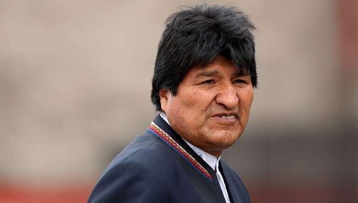 Майдан в Боливии отказал Эво Моралесу в защите от уголовного преследования