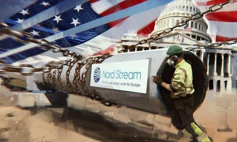 США собираются вводить «военный формат решения угрозы» «Северного потока – 2»