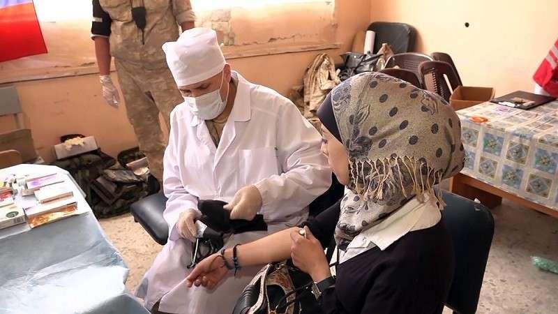 Россия перебросила на север Сирии медицинский спецназ
