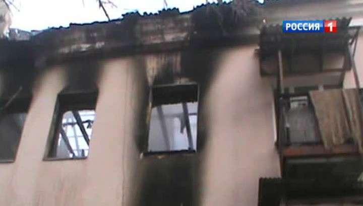 Украинские каратели бьют по жилым кварталам Донецка