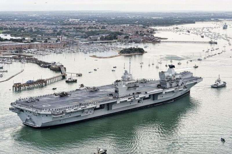 Бред бесполезного величия – Великобритания и её новые авианосцы
