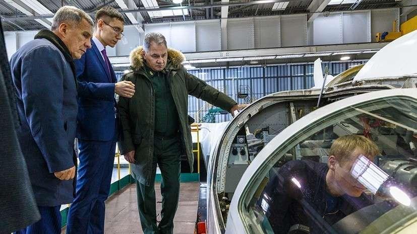Модернизированный стратегический бомбардировщик Ту-160М – это фактически новый самолёт