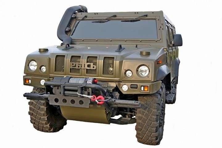 Выполнен контракт на поставку бронемашин «Рысь» для Минобороны
