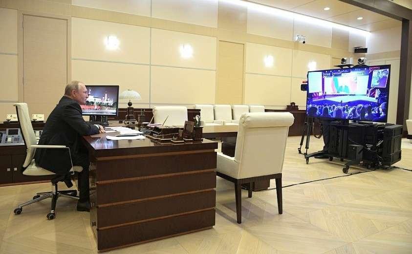 Владимир Путин принял участие в открытом уроке в рамках форума «ПроеКТОриЯ»