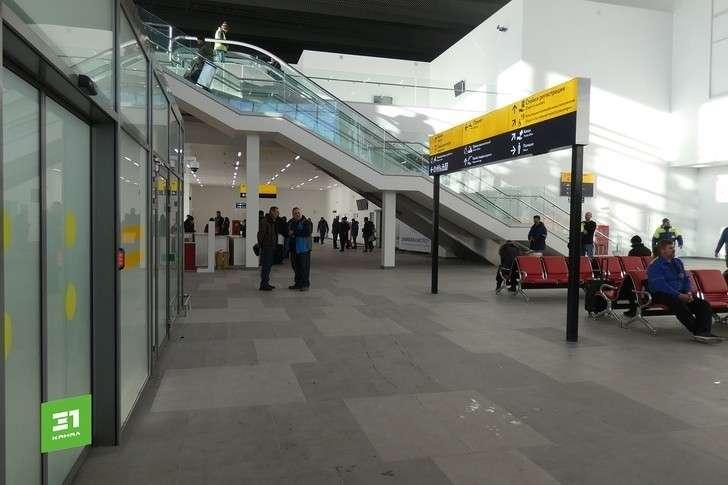 Новый терминал челябинского аэропорта запустили в тестовую эксплуатацию