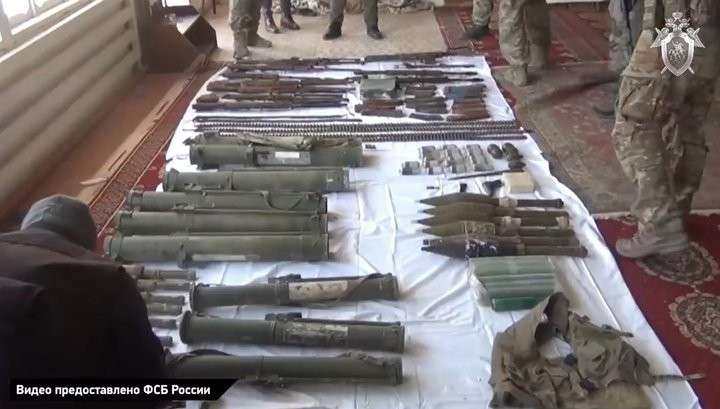 В арсенале дагестанской банды «шараповских» оперативники обнаружили огнемёты и гранатомёты