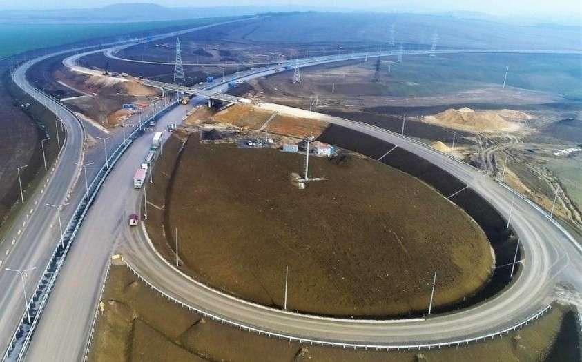 Крымская федеральная трасса «Таврида» готова на 81 процент