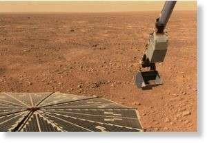 Примерно так происходит забор марсианского грунта
