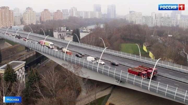 В Москве завершено строительство Северо-Западной хорды: открыт мост через Канал имени Москвы