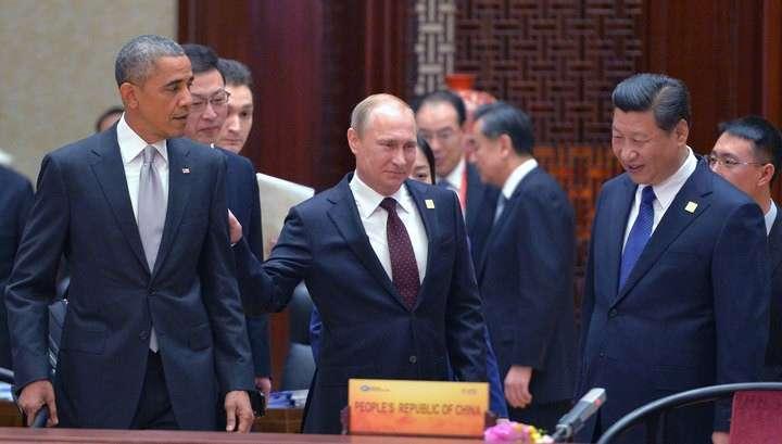 Владимир Путин и Обама дважды пообщались на саммите АТЭС