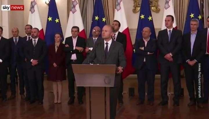 Убийство журналистки на Мальте вылилось в крупнейший политический кризис