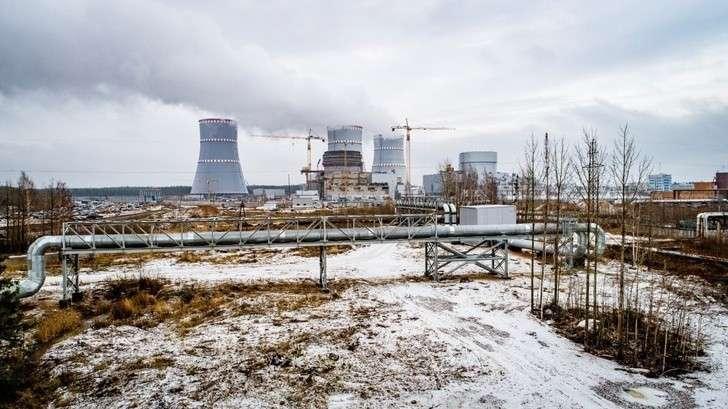 Новый энергоблок Ленинградской АЭС-2 ВВЭР-1200 начал снабжать теплом Сосновый Бор