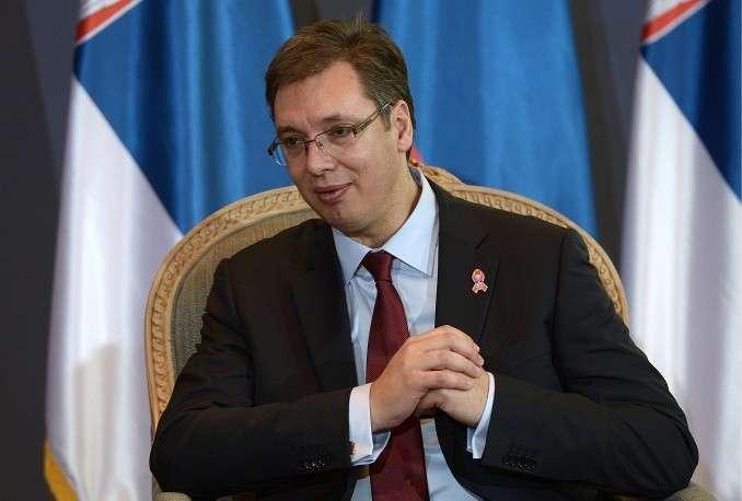 """Александр Вучич, премьер-министр Сербии: """"Сербия - свободное и независимое государство,.. она не вводила и не будет вводить никаких санкций против России"""" (15 октября 2014 года в интервью ТАСС)"""
