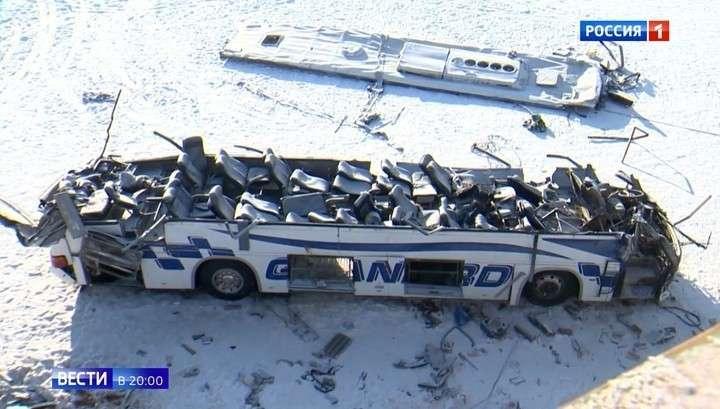 ДТП с автобусом в Забайкалье: выдвинута предварительная версия аварии