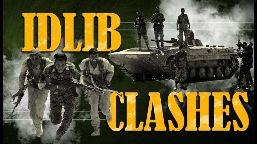 Идлиб. Сирийская армия отразила крупную атаку боевиков