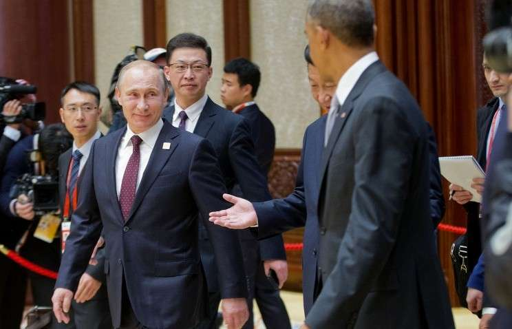 Путин и Обама затронули вопросы Украины, Сирии, Ирана, двусторонние отношения