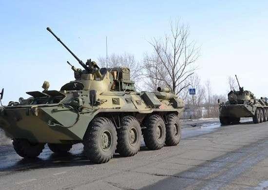 Самарские военные получили около 300 бронетранспортеров