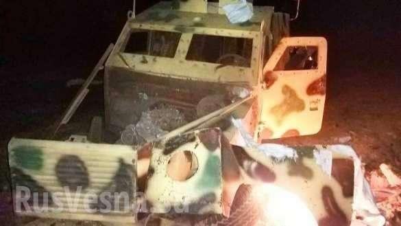 Сирия: по турецким войскам нанесены удары, уничтожена бронетехника и военные | Русская весна