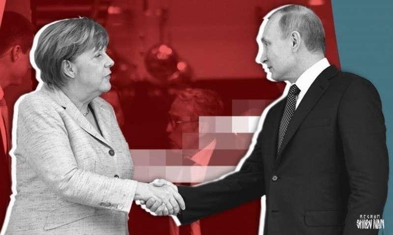 Фрау Меркель пытается поднять ставки перед встречей с Путиным в Париже