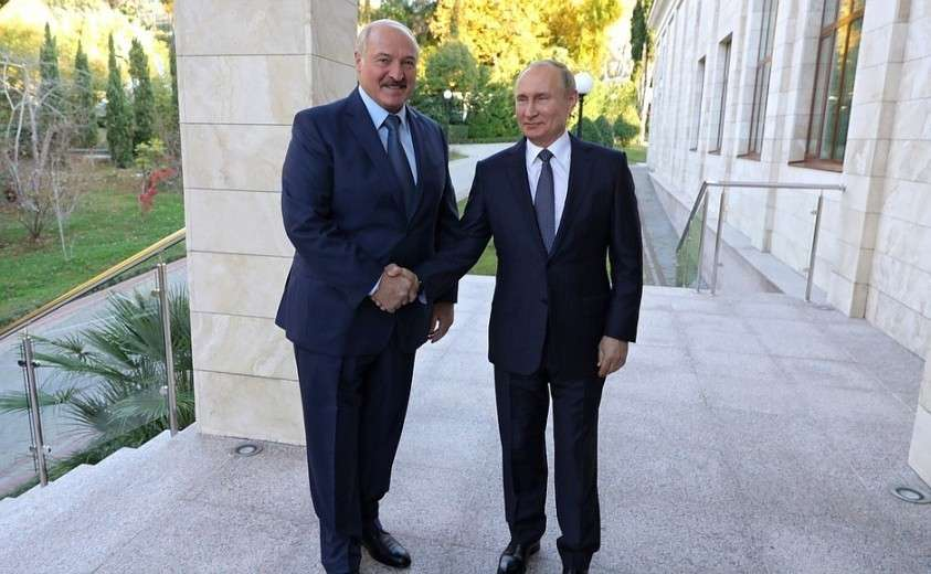 Переговоры с Президентом Белоруссии Александром Лукашенко