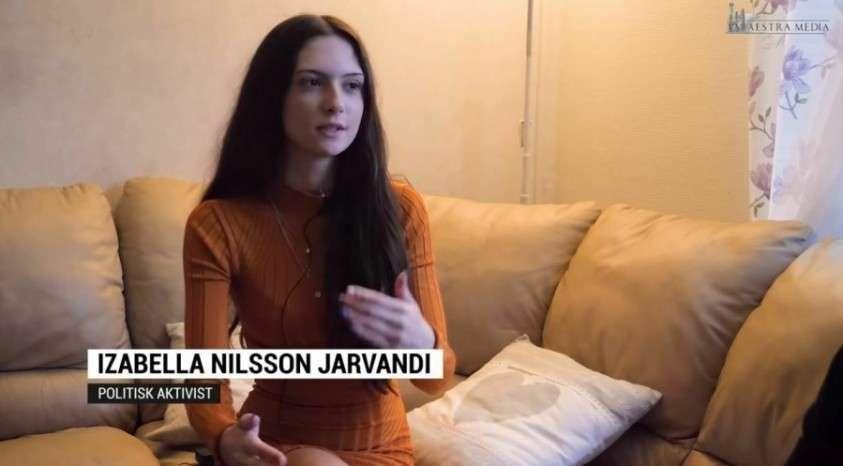 Изабелла Нильссон Ярванди – «анти – Грета Тунберг» стала героиней в рунете