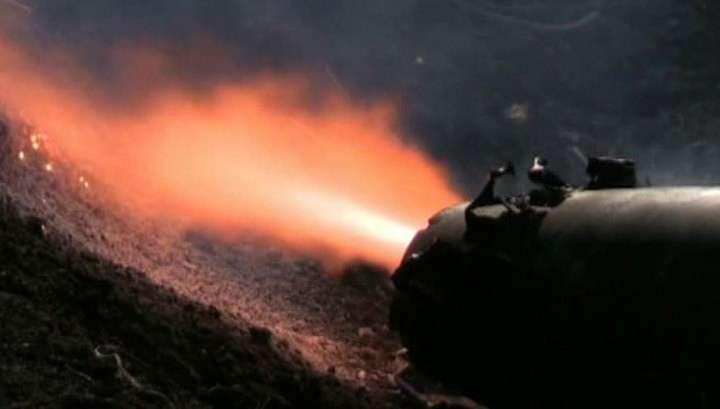 Население Украины бомбят запрещённым оружием