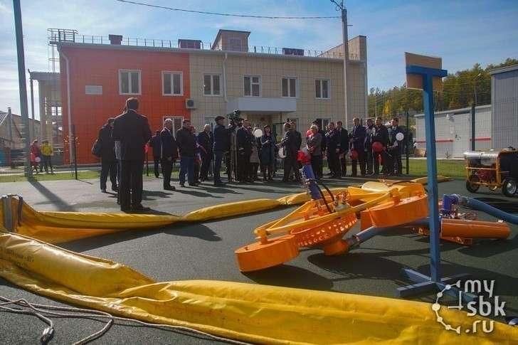 В Северобайкальске открыта база экологического мониторинга и аварийно-спасательного обеспечения