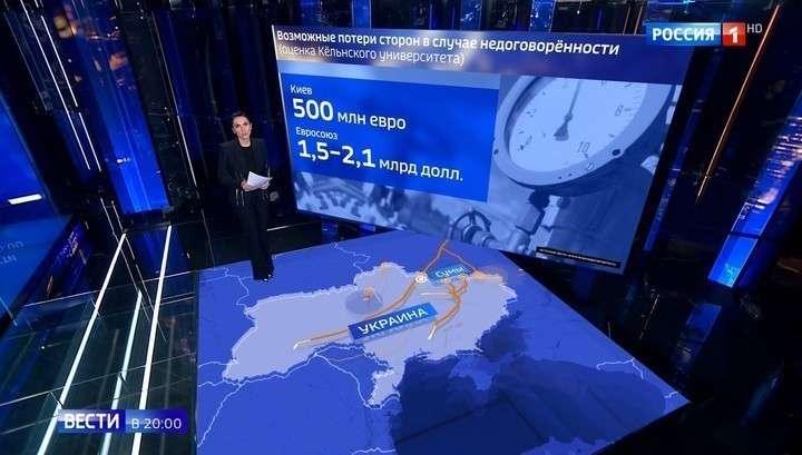 Газовые переговоры России и Украины: о чём договорились Путин с Зеленским