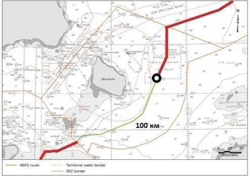 До конца укладки «Северного потока-2» осталось 100 километров