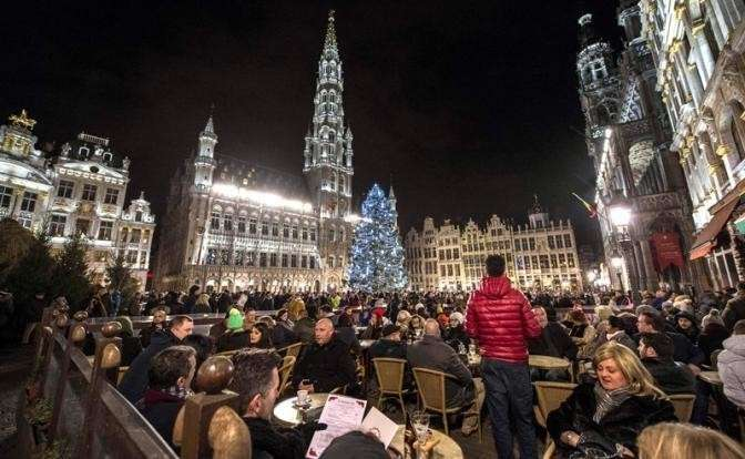 Встреча Нового 2016 года в Брюсселе, Бельгия