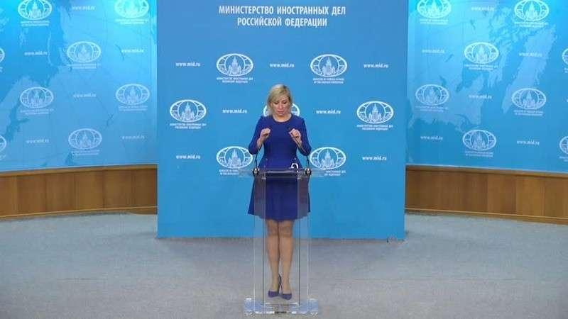 Мария Захарова провела еженедельный брифинг МИД России 12.12.2019