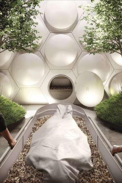 Их нравы: в США из покойников будут делать «экологический» компост