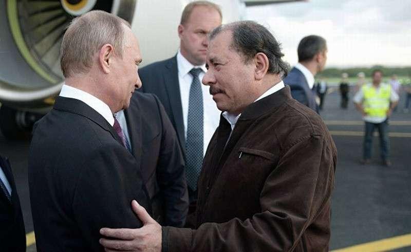 Россия будет защищать Никарагуа от диких и агрессивных американцев