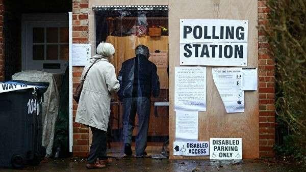 Избирательный участок в Лондоне