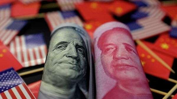 Американский доллар и китайский юань