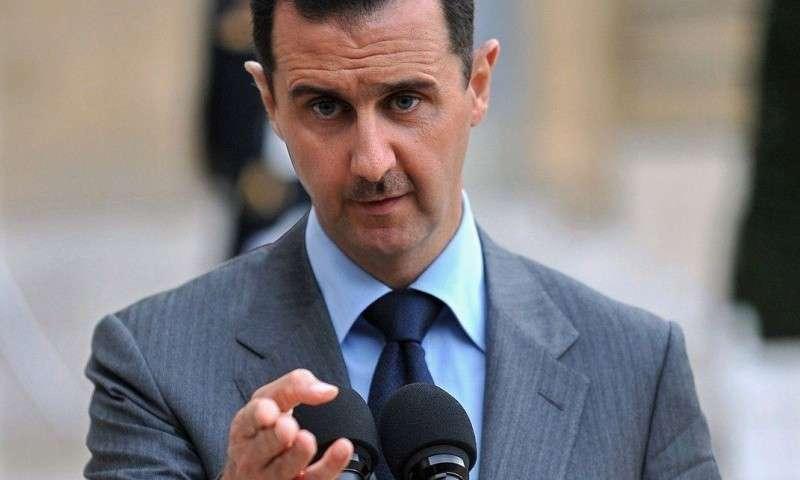 Асад заявил о тысячах военных США в Сирии
