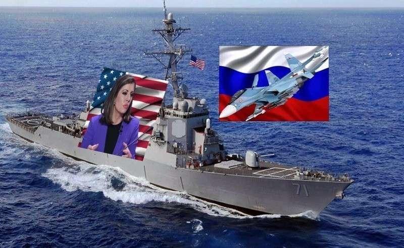 США протестуют: Американский флот – это не тренажеры для российских военных