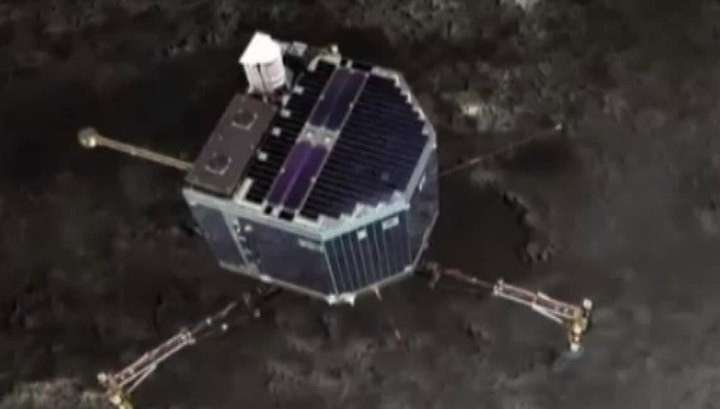 Впервые в истории исследовательский модуль Philae сядет на комету
