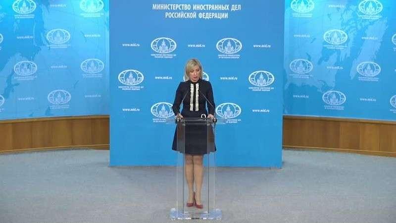 Мария Захарова провела еженедельный брифинг МИД России 18.12.2019
