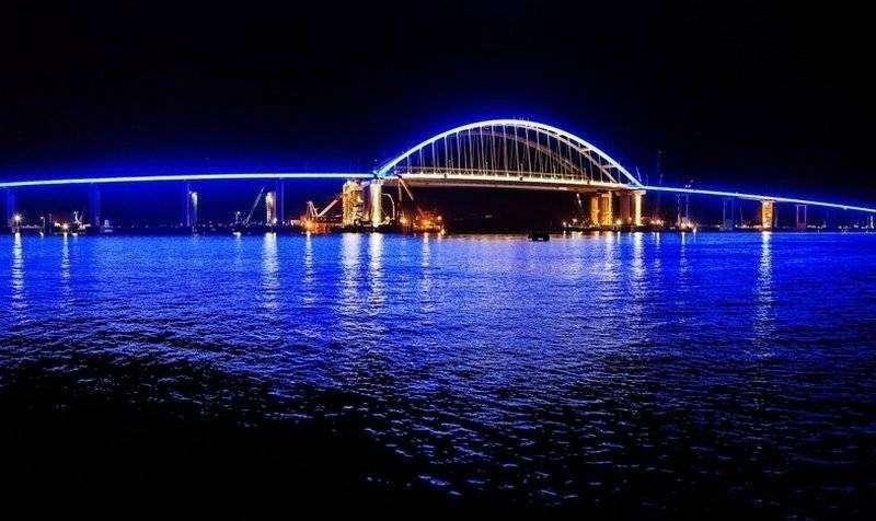 Строительство Крымского моста официально завершилось! Ура!