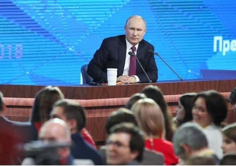 Большая пресс-конференция Владимира Путина 19 декабря 2019 года: прямая онлайн-трансляция
