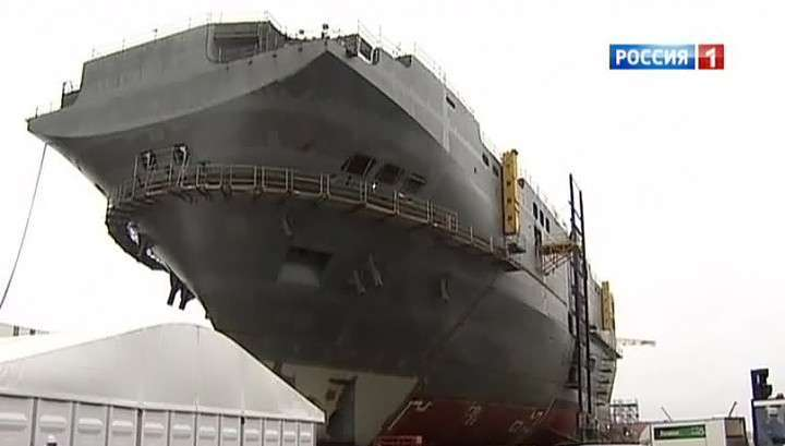 Для поставки вертолетоносца Мистраль в Россию не хватает разрешения на экспорт