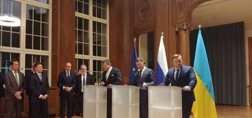 Россия и Украина достигли принципиального соглашения по транзиту газа через территорию Украины