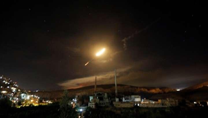 Сирийские ПВО отразили ракетную атаку террористического Израиля