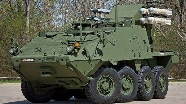 Бронемашина Stryker MSL