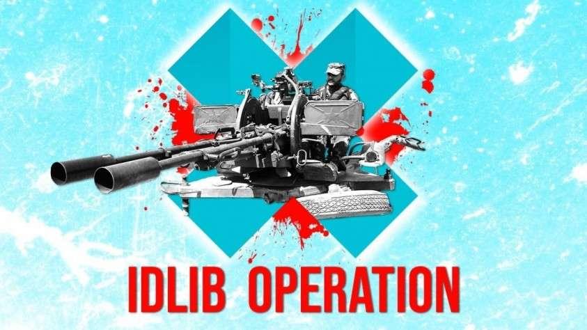 Идлиб: Сирийская Армия наступает на трассу М5